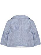 Armani Collezioni Light Blue Suit For Babyboy With Logo - Light Blue