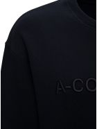 A-COLD-WALL Black Jersey Sweatshirt With Logo - Black