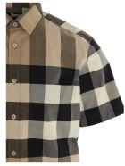 Burberry 'somerton' Shirt - Beige