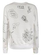Golden Goose Athena Crewneck Sweatshirt - White