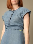 Armani Collezioni Armani Exchange Dress Armani Exchange Short Denim Dress - Denim