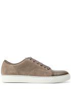 Lanvin Suede Sneakers - Beige