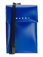 Marni Polyester Phone Holder - ROYAL