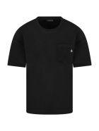Dondup Black T-shirt For Boy - Black