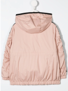 Moncler Kid Powder Pink Denata Short Parka