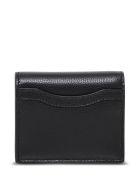 Balenciaga Neo Classic Black Leather Wallet With Logo - Black