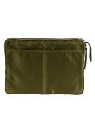 Sacai Two-way Top Zip Laptop Bag - Khaki