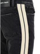 Palm Angels Jeans - Black white