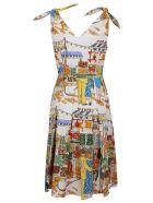 Alessandro Enriquez Multicolor Cotton Dress - Multicolor