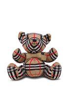 Burberry Thomas  Vintage Check Wool Teddy Bear - Beige