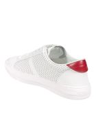 Moncler New Monaco Sneakers - White/Red