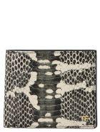 Tom Ford 't Line' Wallet - Black&White