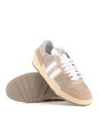 Lanvin Sneaker Clay Low Top - Beige/white