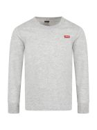 Levi's Grey T-shirt For Kids With Logo - Grey