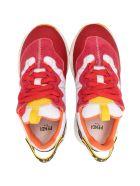 Fendi Sneakers With Color-block Design - Unica