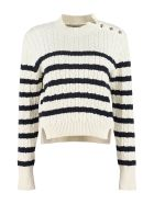 Moncler Genius Cable Knit Pullover - panna