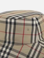 Burberry Vintage Check Cotton Fisherman Hat - Beige
