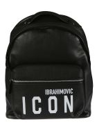 Dsquared2 Icon Backpack - Black