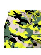 MC2 Saint Barth Camouflage Boy Swim Trunks - Fancy