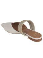 Malone Souliers Maisie Flat Sandals - Cream