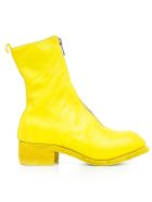 Guidi Horse Zipped Boots - T Yellow