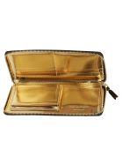 Comme des Garçons Wallet Classic Zip Around Wallet - Gold