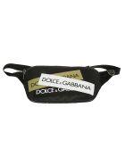 Dolce & Gabbana Logo Patch Belt Bag - Nero Multicolor