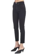 RE/DONE 'high Rise Ankle Crop' Jeans - Black