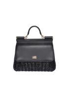 Dolce & Gabbana Medium Sicily Bag - Black