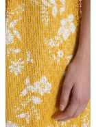 See by Chloé Lace Layered Skirt - yellow