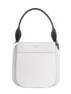 Prada Margit Shoulder Bag - White Black