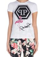 Philipp Plein 'flamingo' T-shirt - White