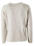 Mother The Kangaroo Square Pullover - Grey melange
