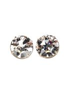 Miu Miu Solitaire Earrings - STEEL + WHITE