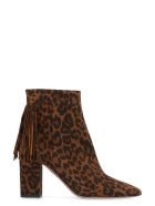 Aquazzura Regent Suede Ankle-boots - brown