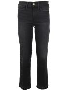 Frame Le Hight Straight Jeans - Nero stone