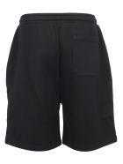 Valentino Bermuda Shorts - Nero/vltn stella bianco