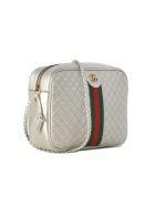 Gucci Laminated Shoulder Bag - Silver