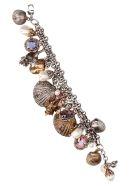 Alexander McQueen 'shells' Bracelet - Multicolor