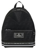 Fendi Backpack - Nero/palladio