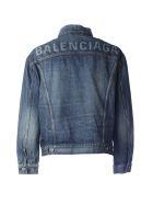 Balenciaga Classic Denim Jacket - Dirty Light Blue