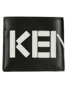 Kenzo Logo Wallet - black
