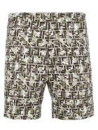 Fendi Bermuda Shorts - Rosmarino