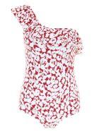 LOVE Stories Leopard Mayflower Swimsuit - SPHIX|Bianco