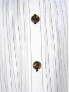 Ganni Pleated Blouse - WHITE