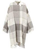 Jil Sander Luella Blanket Coat - Open grey