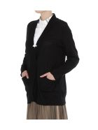 Fabiana Filippi V Neck Cardigan - Black