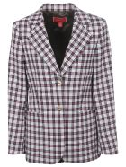 Tommy Hilfiger Checked Blazer - Snow White Multi