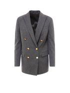 Tagliatore Jacket - Grey