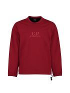C.P. Company Printed Long-sleeve T-shirt - red